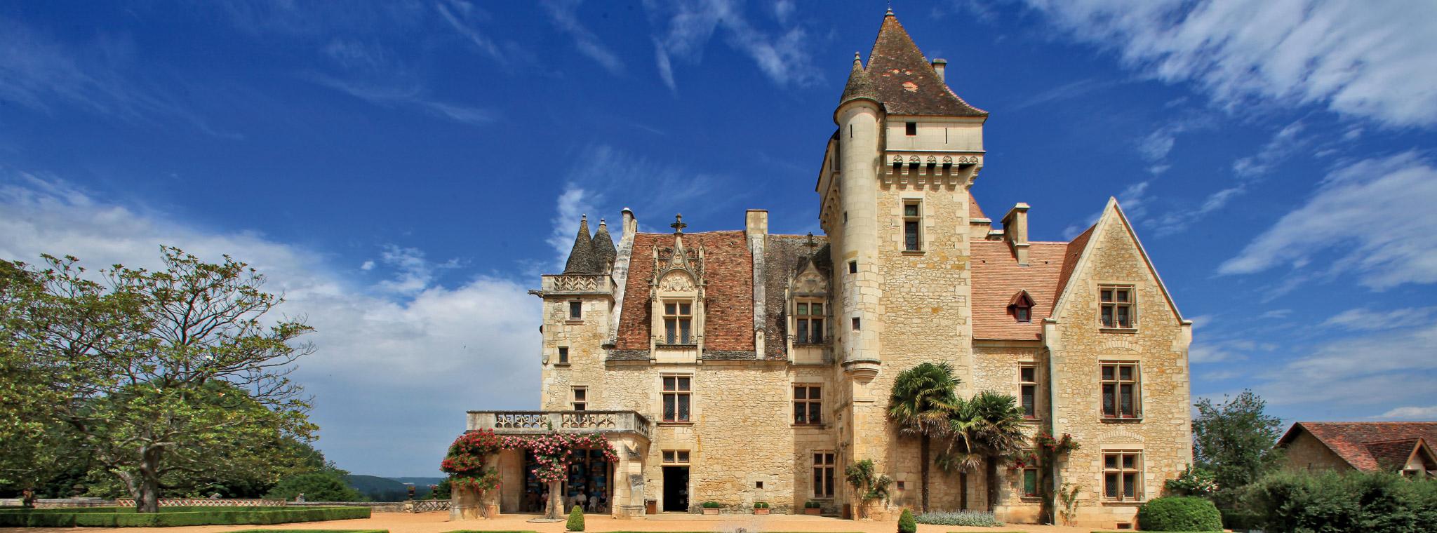 Ch teau des milandes le ch teau - Demeure de charme dom architecture ...